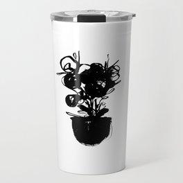 flower pot 001 Travel Mug