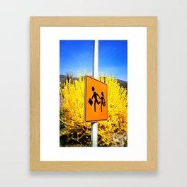 time of spring Framed Art Print