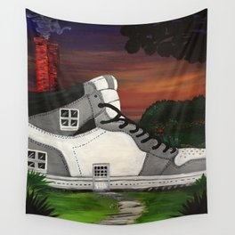 Shoe Value Wall Tapestry