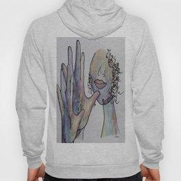 ASL Grandmother in Denim Colors Hoody