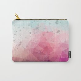 Abstract polygonal colourful background Carry-All Pouch