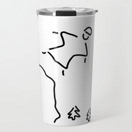 basejumping extreme sport Travel Mug