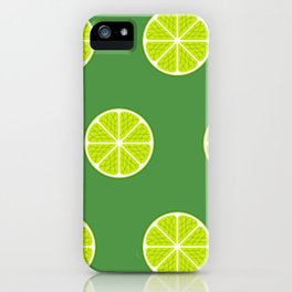 Lime Light iPhone Case