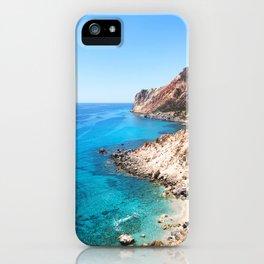 236. Perfect Beach, Greece iPhone Case