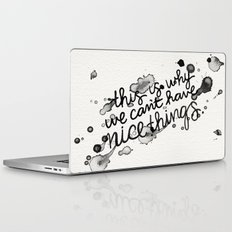 This is Why We Can't Have Nice Things Laptop & iPad Skin