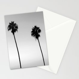 Black and White San Diego Palms - California Stationery Cards