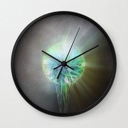 Rainbow Light Wall Clock