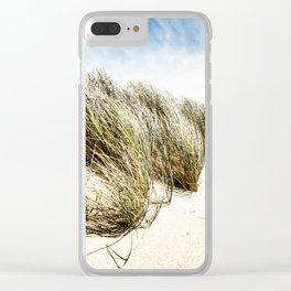 Sea and Sand, Kellogg Beach, Crescent City, California. Clear iPhone Case