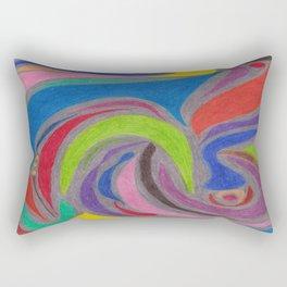 Vivid Rectangular Pillow