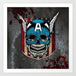 Captain-A Art Print