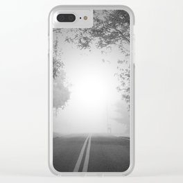 The Path Untraveled Clear iPhone Case