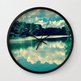 Process of Evaporation Wall Clock