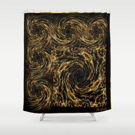 Swirlylicious dream Shower Curtain