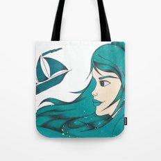 Poseidon Goddess of the Sea Tote Bag