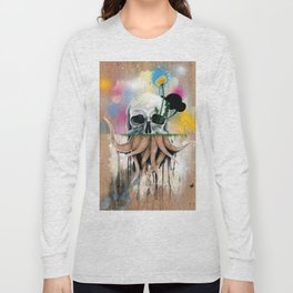 Skull Roots Long Sleeve T-shirt