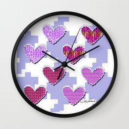 Sweetooth Love Wall Clock