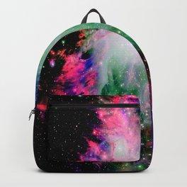 Orion Nebula Black Pyschedelic Backpack