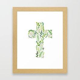 Life in Jesus Framed Art Print