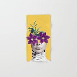 Floral Portrait 2 Hand & Bath Towel