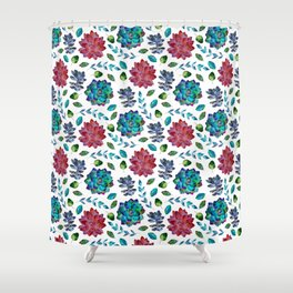 red and turquoise shower curtain. red and turquoise shower curtain  succulent garden pattern blue Red And Turquoise Shower Curtain Beacon Stripe Bath