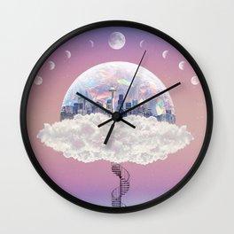 CITY OF PASTEL DREAMS IV Wall Clock