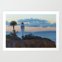 San Vicente Lighthouse Art Print
