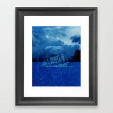 Night Dream Framed Art Print