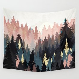 Spring Forest Light Wall Tapestry