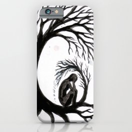 Isolation and depression iPhone Case