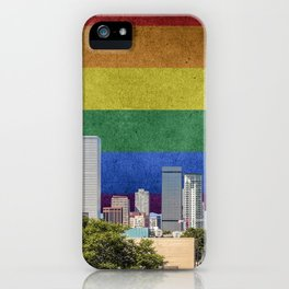 Denver, Colorado LGBT iPhone Case