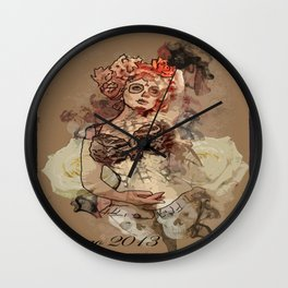 Open Up To Me Wall Clock