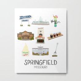 Springfield, Missouri Metal Print