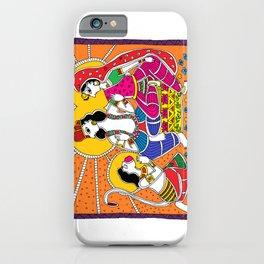 Madhubani Painting / Painting of Ram-Sita-Hanuman/ Madhubani Hub /Original painting of Amrita Gupta iPhone Case