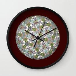 Kaleidoscopic Nature Wall Clock