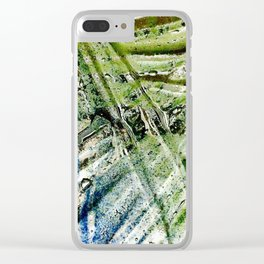 Molten Glass Clear iPhone Case