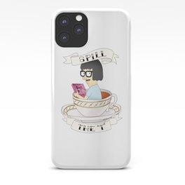 Tina Bob's Burgers (Spill The Tea) iPhone Case