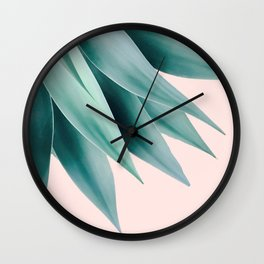 Agave flare Wall Clock