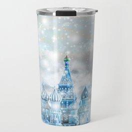 Russian christmas Travel Mug