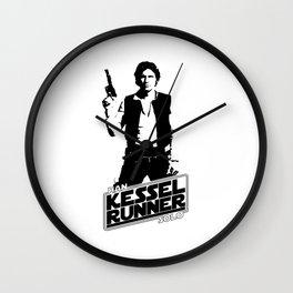 Han Solo-Kessel Runner Wall Clock