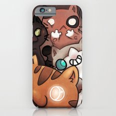 Silly cats iPhone 6s Slim Case