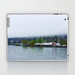 Madeline Island from the Bayfield Ferry Laptop & iPad Skin