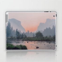Yosemite Valley Sunrise Pretty Pink Laptop & iPad Skin