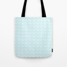 Watercolor Squares Blue Tote Bag