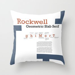 Rockwell Throw Pillow