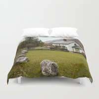 irish Duvet Covers featuring Irish Cottage by Bekah Marie from Mere Image Photography