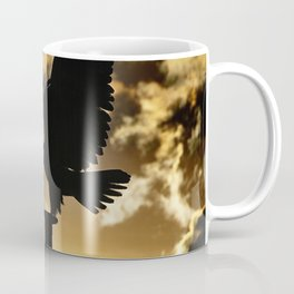 Golden Eagle Sunset Coffee Mug