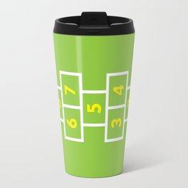 Hopscotch Green Travel Mug