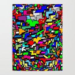 Shapes, Colors, & Basic Geometrics Poster
