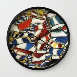 Fernand Leger - Contrast of forms Wall Clock