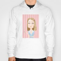 the royal tenenbaums Hoodies featuring Margot Tenenbaum The Royal Tenenbaums by suPmön